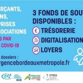 Fonds d'urgence Bordeaux Métropole