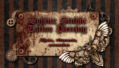 Sphinx Studio tattoo piercing